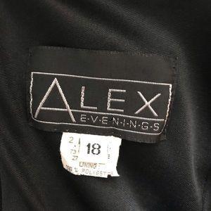 Alex Evenings Dresses - Alex Evenings Sz 18 Formal Maxi Dress Stretchy